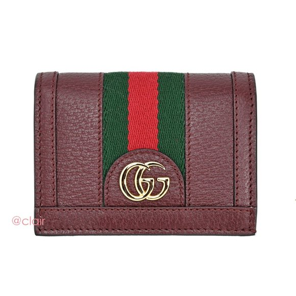 Gucci Handbags - Gucci Ophidia Leather Bifold Wallet